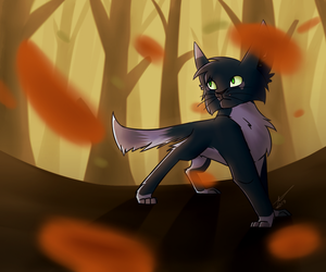 Into the Autumn Air. by BextrixDraws