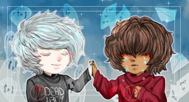 [Icon] Duer and Endy by Pancakekkoh