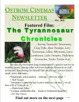 Ostrom Cinemas Newsletter by Albertonykus