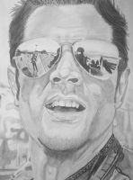 Johnny Knoxville Portrait by SCRUBZLOTUS
