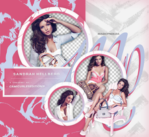 PACK PNG 629| SANDRAH HELLBERG by MAGIC-PNGS