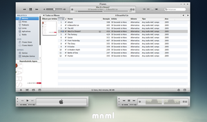 mnml iTunes 10 for Windows by 1davi