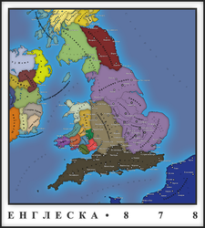 England in 878 [Serbian] by DrakiTheDude