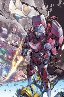 arcee cover colors. by markerguru