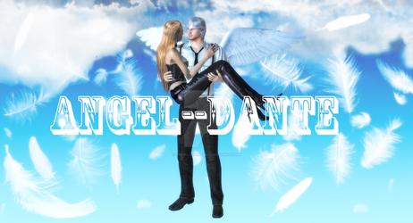 Dante and Trish in Heaven by angel--dante