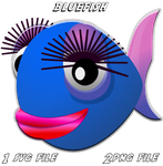 Bluefish-icon by ilnanny