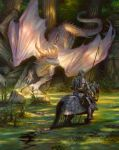 St. George and the White Dragon by DonatoArts