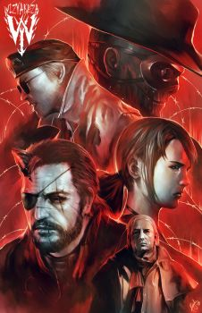 Phantom Pain by wizyakuza