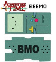 Adventure Time: BEEMO by DesignsByCorkyLunn