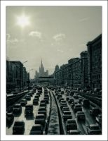 Moscow Series: Above by myownself