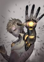 ONE PUNCH MAN GENOS by armipeg