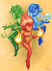 CD: The Elements by forte-girl7