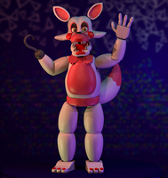 Funtime Foxy by W3IRDR3D