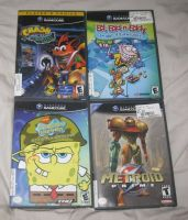GameStop GameCube pickups by T95Master