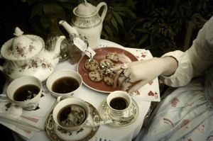 Welcome To My Teaparty by KellyAliceLoliCotton