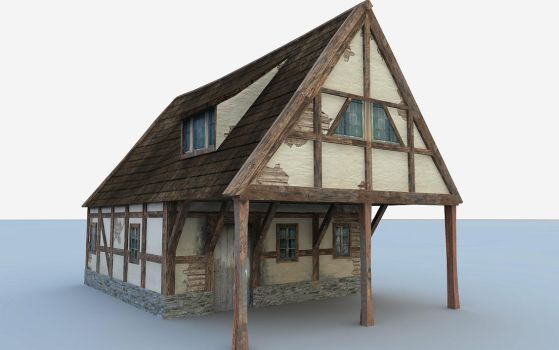shackhouse textured by Dimmulane