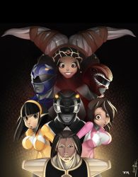 Power Rangers by TRbox
