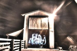 The Ghost in the Barn by MisterGuy11