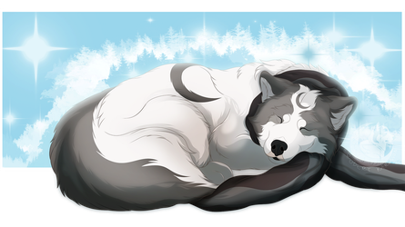 Sleepyhead by ArcticLune