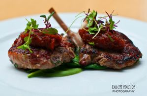 Pan Seared Lamb Cutlets by DulcetEpicure
