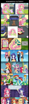 Remembering Fluttershy by Lucy-tan