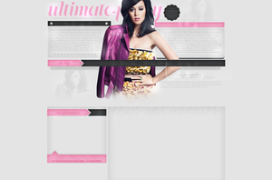 Katy Perry Layout by lenkamason