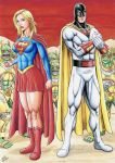 SUPERGIRL and SPACE GHOST by TIAGO-FERNANDES