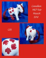 Canadian 2010 MLP Fair Mascot by NorthernElf