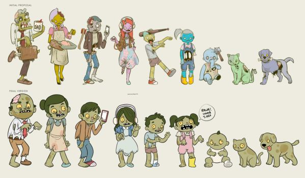 Zombie decals final version by Sheharzad-Arshad