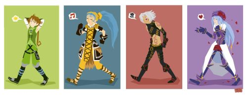 dotHackers on parade by jill-calico
