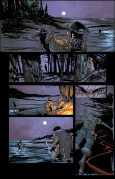 The Witcher House of Glass # 5 pg. 13 by realcabz