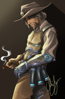 McCree by MariaLangen