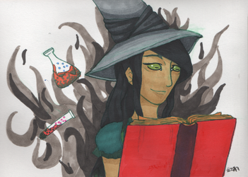 Witch Chemist by Raikeneko