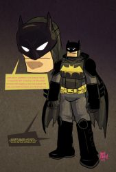 redesign: Batman by andehpinkard