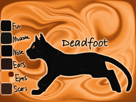 Deadfoot of WindClan - The Darkest Hour by Jayie-The-Hufflepuff