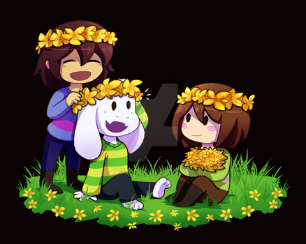 Flower Children by xXNovaNepsXx