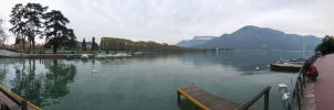 Lac d'Annecy by angelofdisaster