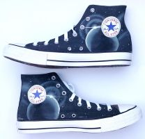 Halo themed custom converse by Ceil