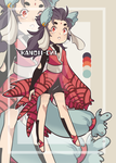 Japanese Lace Kitsune [OPEN PRICE LOWERED] by kanoii-chi