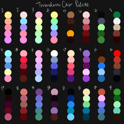 Color Palette Challenge by thrandurins