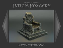Laticis Imagery FREE - Stone Throne by Laticis