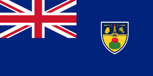 Alt Flag - Turks and Caicos Blue Ensign by AlienSquid