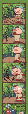 A Pikmin Comic by Loopy-Lupe