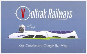 Voltrak Railways by cashmeresky