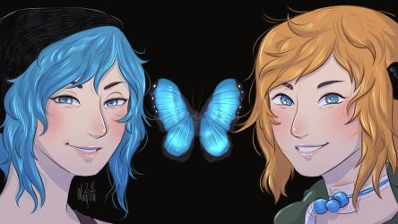 Life is Strange :: Chloe and Chloe by Magntaa