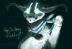 Finchwing(B-day gift)(re-upload) by beneheartcat