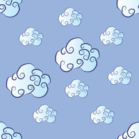Cartoon Clouds by groundh0g