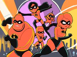 The Incredibles 2 by AlSanya