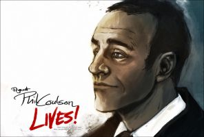 Avengers - Coulson Lives by Sayael