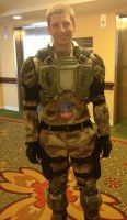 Halo: 3 Marine Cosplay for RTX 2013 by DangerousPyro